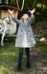 Двобортне пальто А-силуету - фото 1