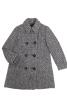 Двобортне пальто А-силуету - фото 2
