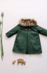 Пальто зі знімним хутряним коміром - фото 4