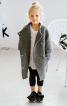 Пальто прямого крою з асиметричною застібкою - фото 1