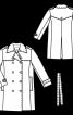 Пальто-тренчкот класичного крою - фото 3