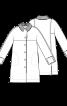 Пальто без підкладки з трикотажним коміром - фото 3