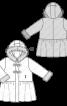 Пальто з баскою і хутряною облямівкою - фото 3