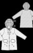 Пальто з капюшоном і коміром-стойкою - фото 3
