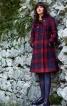 Пальто двобортне з рукавами реглан - фото 1