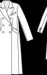 Пальто двобортне шерстяне - фото 3