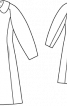 Пальто двобортне розкльошеного силуету - фото 3