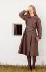 Пальто двобортне розкльошеного силуету - фото 1