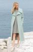 Приталене двобортне максі-пальто - фото 1