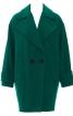 Пальто коротке двобортне О-силуету - фото 2