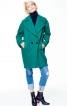 Пальто коротке двобортне О-силуету - фото 1