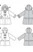 Пальто з баскою і хутряною облямівкою - фото 5