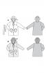 Пальто з капюшоном і коміром-стойкою - фото 5