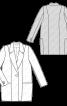 Жакет О-силуету з великими кишенями - фото 3