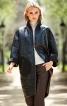 Пальто лакове О-силуету в стилі 60-х - фото 1