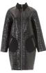 Пальто лакове О-силуету в стилі 60-х - фото 2