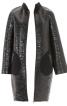 Пальто лакове О-силуету в стилі 60-х - фото 4