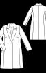 Пальто букле в стилі блейзера - фото 3