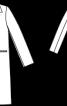 Пальто однобортне класичного крою - фото 3