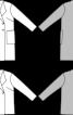 Півпальто двобортне просторого крою - фото 3