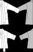 Жакет із широким коміром-шарфом - фото 3