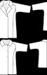 Пальто просторого силуету з рукавами 3/4 - фото 3
