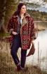 Пальто двобічне з хутряною підкладкою - фото 1