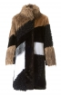 Хутряне пальто в стилі печворк - фото 2