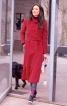 Пальто з асиметричним коміром-стійкою - фото 1