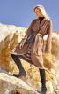 Пальто із суцільнокроєним коміром - фото 1