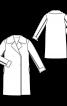 Пальто-дублянка зі штучної овчини - фото 3