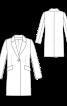 Пальто однобортне прямого крою - фото 3