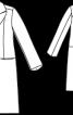 Пальто жакардове приталеного силуету - фото 3