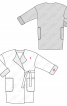 Пальто широкого крою із в'язаного полотна - фото 3