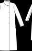 Пальто з асиметричним коміром-стійкою - фото 3