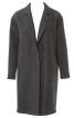 Пальто прямого силуету - фото 2