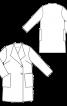 Пальто просторе прямого силуету - фото 3