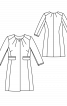 Пальто однобортне приталеного крою - фото 3