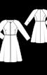Пальто відрізне з рукавами реглан - фото 3