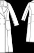 Пальто максі приталеного силуету - фото 3
