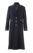 Пальто однобортне в армійському стилі - фото 2