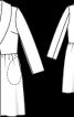 Пальто приталеного крою з лодену - фото 3