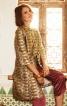 Пальто коротке з рельєфними швами - фото 1