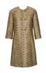 Пальто коротке з рельєфними швами - фото 2