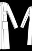 Довге пальто без застібки - фото 3
