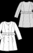 Жакет відрізний розкльошеного силуету - фото 3