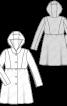 Пальто букле з капюшоном - фото 3