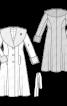 Пальто з шалевим хутряним коміром - фото 3