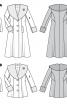 Пальто з шалевим хутряним коміром - фото 6