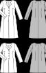 Пальто приталеного силуету без коміра - фото 3